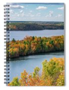 Cuyuna Country State Recreation Area - Autumn #1 Spiral Notebook