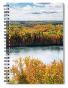 Cuyuna Country State Recreation Area - Autumn #2 Spiral Notebook
