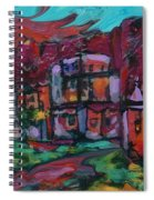 Cyan Skies Spiral Notebook