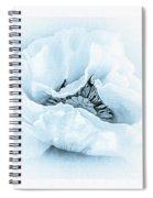 Cyanotype Poppy Spiral Notebook