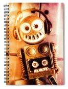 Cyborg Dance Party Spiral Notebook
