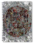 Cyborg Heart Spiral Notebook