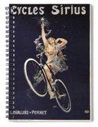 Cycles Sirius - Paris 1899 Spiral Notebook
