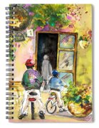 Cycling In Italy 04 Spiral Notebook