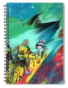 Cycling In Majorca 01 Spiral Notebook