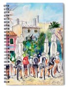 Cycling In Majorca 05 Spiral Notebook