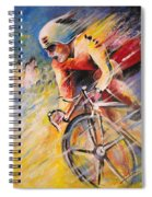 Cycling Spiral Notebook