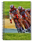 Cycling Practice Spiral Notebook