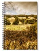 Cygnet Rustic Farming Fields Spiral Notebook
