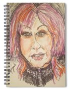 Cyndi Lauper Spiral Notebook