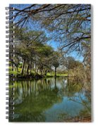 Cypress Bend Park Reflections Spiral Notebook