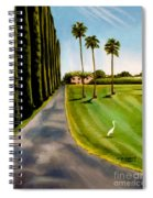 Cypress Palms Spiral Notebook