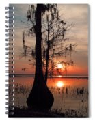 Cypress Sunset Spiral Notebook