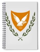 Cyprus Coat Of Arms Spiral Notebook