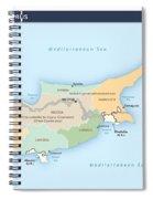 Cyprus Spiral Notebook