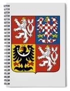 Czech Republic Coat Of Arms Spiral Notebook