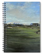 D P World Tour Championship - 18th Tee Spiral Notebook