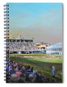 D P World Tour Championship 2013 Spiral Notebook