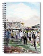 D P World Tour Championship Sketch Spiral Notebook