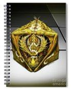 D8 Dragon Spiral Notebook