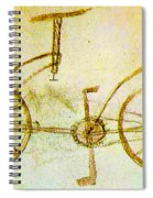 Da Vinci Inventions First Bicycle Sketch By Da Vinci Spiral Notebook