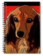 Dachshund 2 Spiral Notebook