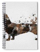 Dachshund Spiral Notebook