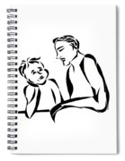 Dad And Son Spiral Notebook