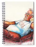 Daddy And Molly Spiral Notebook