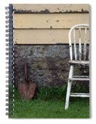 Dads High Chair Spiral Notebook