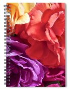 Dad's Roses Spiral Notebook