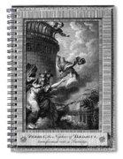 Daedalus And Perdix Spiral Notebook