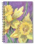 Daffodils Spiral Notebook