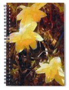 Daffs Gone Goth Spiral Notebook