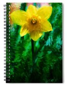 Daffy Dill Spiral Notebook