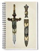 Dagger And Sheath Spiral Notebook