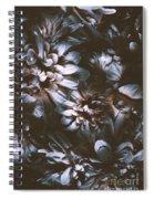 Dahlia Abstraction Spiral Notebook