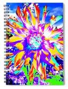 Dahlia Dazzle Spiral Notebook