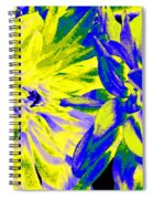 Dahlia Decor Spiral Notebook