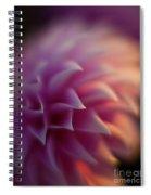Dahlia Dusk Spiral Notebook