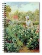 Dahlias Spiral Notebook