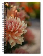 Dahlias Season Spiral Notebook