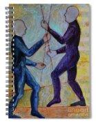 Daily Balancing Spiral Notebook