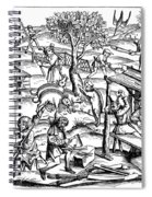 Daily Life: France, 1517 Spiral Notebook