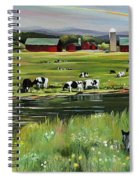 Dairy Farm Dream Spiral Notebook