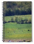 Dairy Farm In The Finger Lakes Spiral Notebook