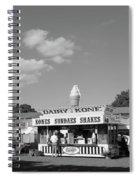 Dairy Kone Spiral Notebook