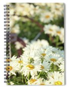 Daisies And A Hand Plow Spiral Notebook