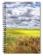 Daisies And Canola Spiral Notebook