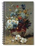 Daisies And Cornflowers Spiral Notebook